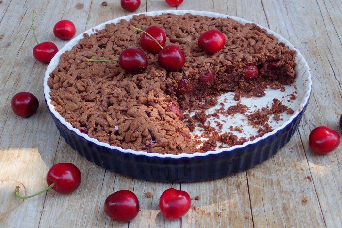 Čerešňový koláč bez lepku