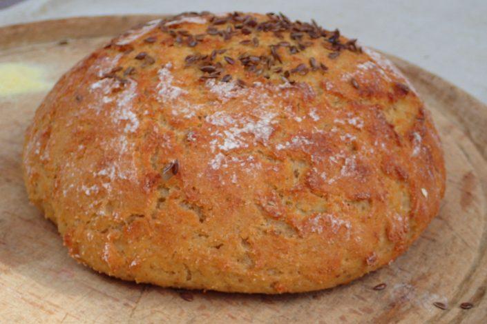 Bezlepkový kváskový chlieb