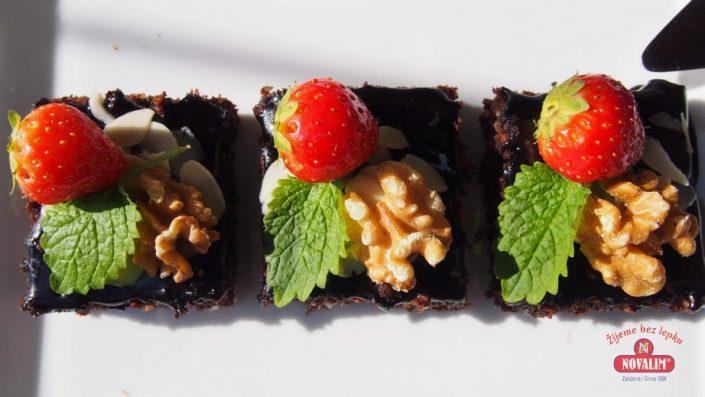 brownies bez lepku