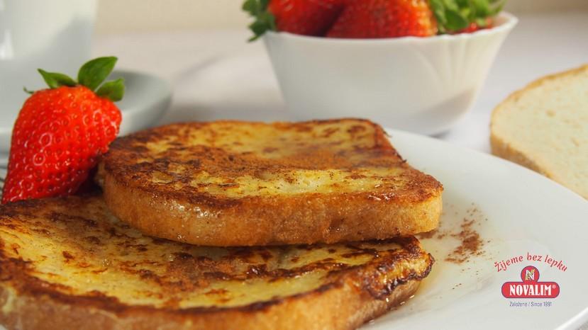 francúzsky toast bez lepku