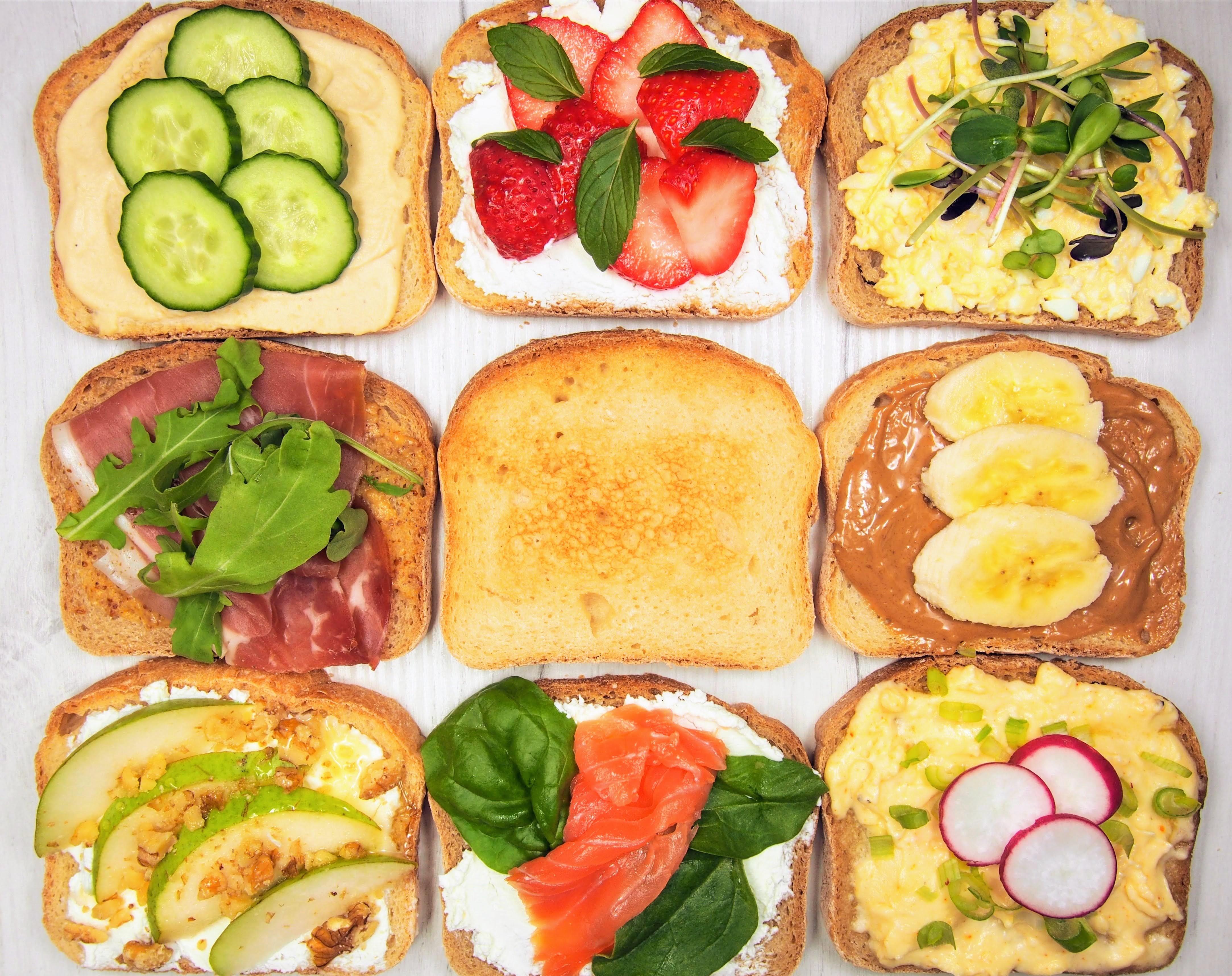 domáce nátierky na bezlepkovom chlebe
